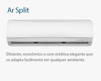 Ar Condicionado Split - Eficiente, econômico