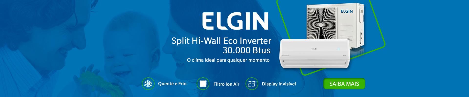 Elgin Split Hi-Wall Eco Inverter 30.000