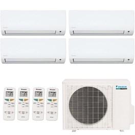 Ar Condicionado Daikin Multi Split Inverter Quadri-Split 35800 Quente e Frio 220V Mono com 3x 12000 Hi Wall Quente e Frio 220V Mono