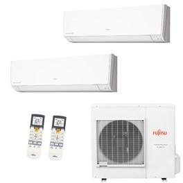 Ar Condicionado Multisplit Fujitsu Bi-Split Inverter 14000 Btus 2x 7000 Quente e Frio 220V