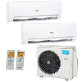 Ar Condicionado Multi Split Springer Midea Bi-Split 36000 Btus 2x 18000 Quente e Frio 220V