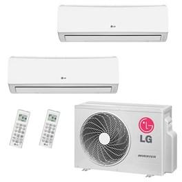 Ar Condicionado Multi Split LG Bi-Split Hi-Wall Inverter 16000 Btus 2x 7000 Quente e Frio 220V