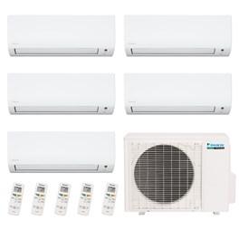 Ar Condicionado Multi Split Daikin Penta-Split 37500 Quente e Frio 220V Mono e 4x 9000 Hi-Wall e 1x 17000 Quente e Frio 220V Mono