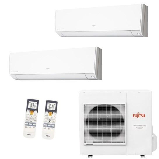 Ar Condicionado Multi Split Fujitsu Bi-Split Inverter 36000 Btus 2x 18000 Quente e Frio 220V