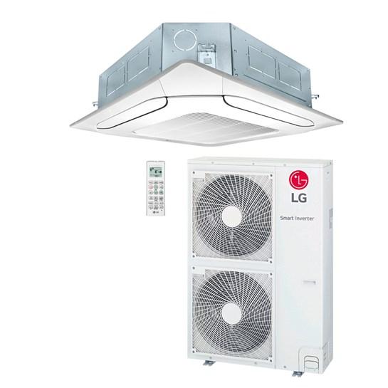 Ar Condicionado Cassete LG Inverter 50000 Btus Quente e Frio 220v