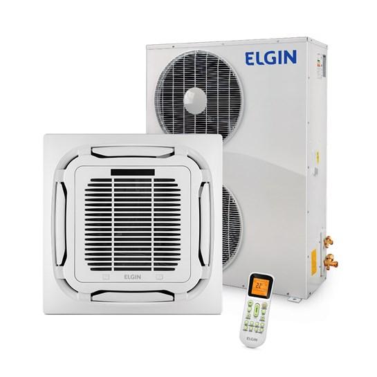 Ar Condicionado Cassete Plus Elgin 48000 BTUs Frio 220V Trifásico