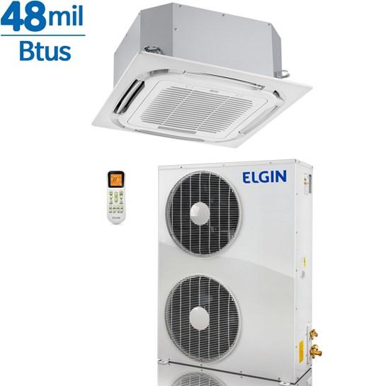 Ar Condicionado Elgin Cassete Plus 48000 Frio 380V Trifásico