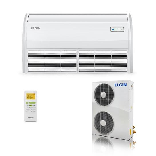 Ar Condicionado Elgin Eco Split Piso Teto 60000 Quente e Frio 380V Trifásico
