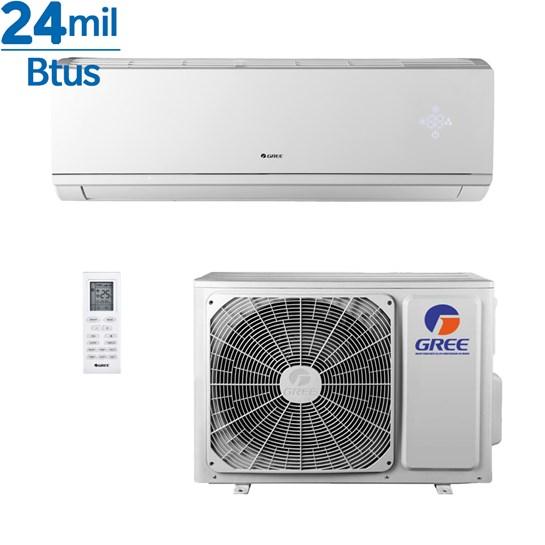 Ar Condicionado Gree Inverter Eco Garden Hi Wall Garden 24000 Btus Quente e Frio