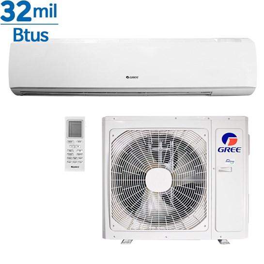 Ar Condicionado Gree Inverter Eco Garden Hi Wall Garden 32000 Btus Quente e Frio