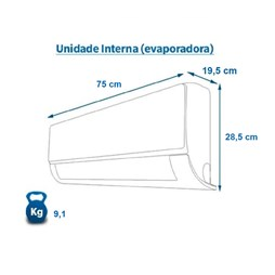 Ar Condicionado Inverter Elgin Eco 12000 Btus Frio 220v