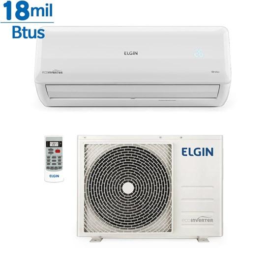 Ar Condicionado Inverter Elgin Eco 18000 Btus Quente e Frio 220v