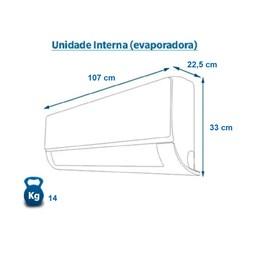 Ar Condicionado Inverter Elgin Eco 30000 Btus Quente e Frio 220v