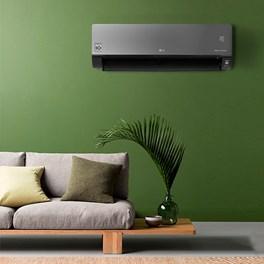 Ar Condicionado Inverter LG Dual Artcool Voice 22000 Btus Quente e Frio 220v