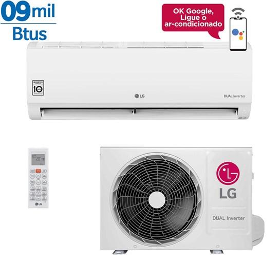 Ar Condicionado Inverter LG Dual Voice 9000 Btus Quente e Frio 220v