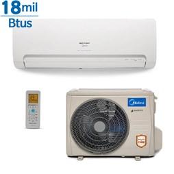 Ar Condicionado Inverter Springer Midea  18000 Btus Quente e Frio 220v