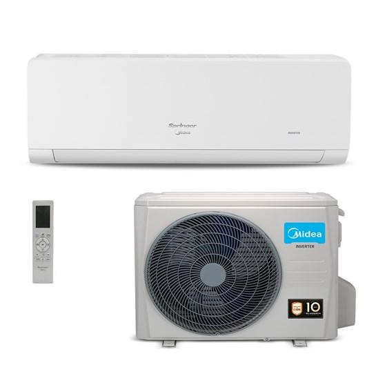 Ar condicionado Inverter Springer Midea Xtreme Save 24000 Btus Quente e Frio 220v