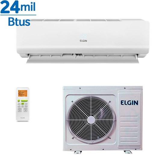 Ar Condicionado Split Elgin Eco Class 24000 Btus Quente e Frio 220v