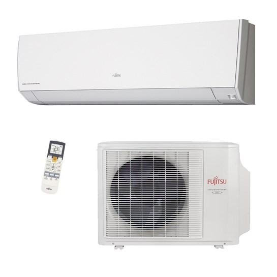 Ar Condicionado Split Inverter C/ Sensor 9000 Btus Quente Frio 220v Fujitsu