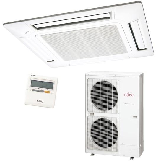 Ar Condicionado Split Inverter Cassete 42000 Btus Quente e Frio 380v Trifásico Fujitsu
