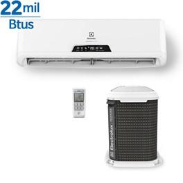 Ar Condicionado Split Inverter Electrolux 22000 Quente e Frio 220V Cond. Barril