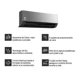 Ar Condicionado Split LG Dual Art Cool Inverter 22000 Btus Quente e Frio 220v