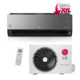 Ar Condicionado Split LG Dual ArtCool Voice Inverter 12000 Btus Quente e Frio 220v