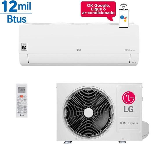 Ar Condicionado Split LG Dual Inverter Econômico 12000 Btus Frio 127v