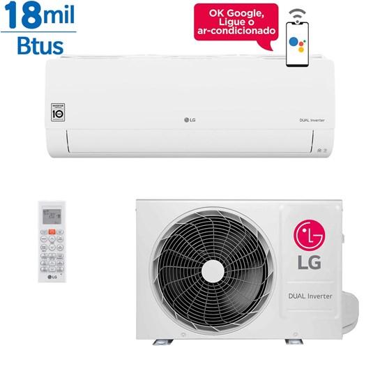 Ar Condicionado Split LG Dual Inverter Voice 18000 Btus Quente e Frio 220v