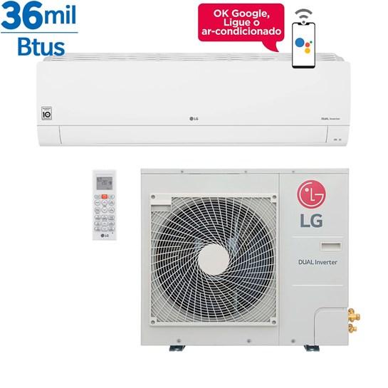 Ar Condicionado Split LG Dual Inverter Voice 36000 Btus Quente e Frio 220v