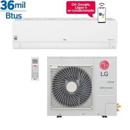 Ar Condicionado Split LG Dual Inverter Voice 36000 Btus Quente e Frio 220v Monofásico