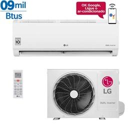 Ar Condicionado Split LG Dual Inverter Voice 9000 Btus Quente e Frio 220v Monofásico