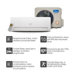 Ar Condicionado Springer Midea Inverter 12000 Quente e Frio 220V Monofásico