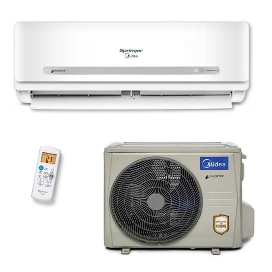 Ar Condicionado Springer Midea Inverter 33000 Quente e Frio 220V Monofásico