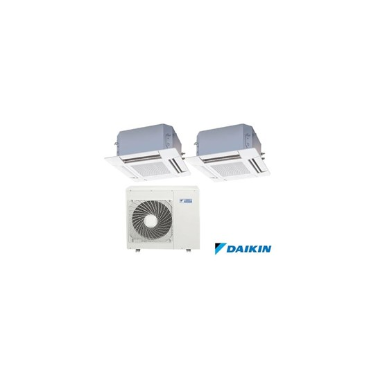 Cassete Daikin Multi Inverter 12000 Quente e Frio 220V Mono